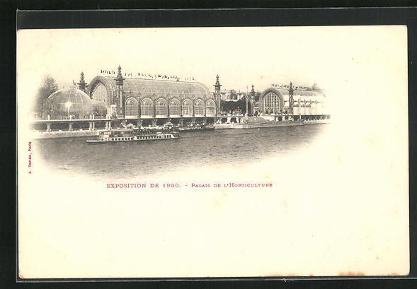 Ak paris exposition universelle de 1900 palais de l horticulture4