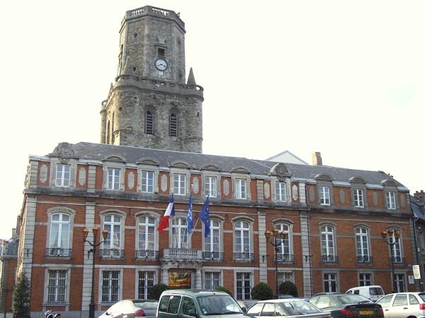 Boulogne sur mer hotel de ville