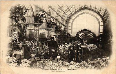 Cpa paris expo 1900 palais de lhorticulture
