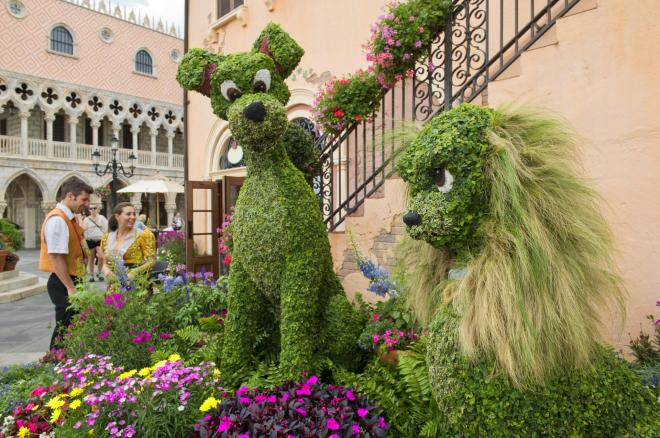 Disney world flower and garden festival 2016