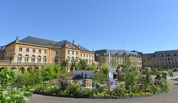 Metz jardins ephemeres for Jardin fabert metz
