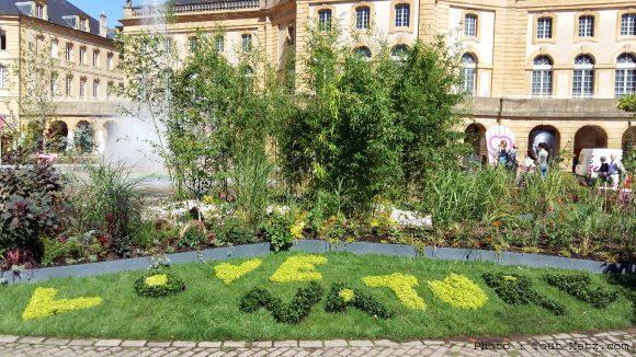 Metz jardins ephemeres for Jardin fabert metz