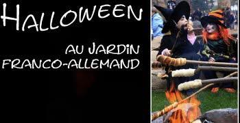 La ville de sarrebruck invite tous les enfants a venir feter halloween dimanche au jardin 1508948804