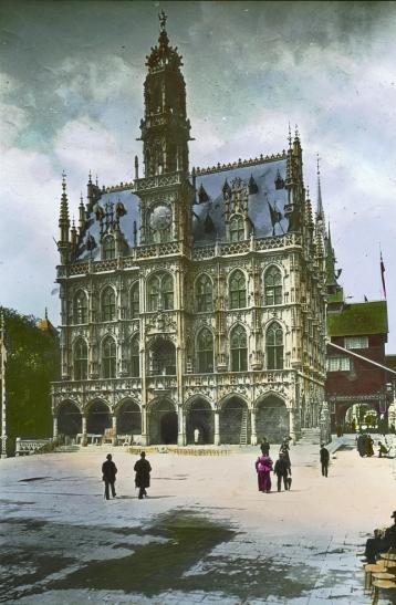 Le pavillon de la belgique a l exposition universelle de paris en 1900