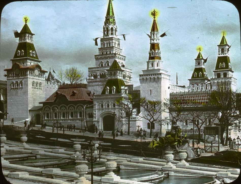 Le pavillon de la russie a l exposition universelle de paris en 1900