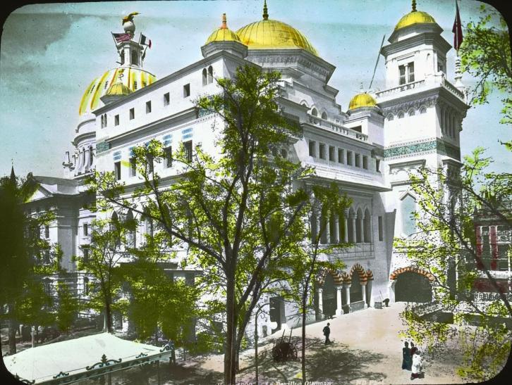 Le pavillon de la turquie a l exposition universelle de paris en 1900 empire ottoman