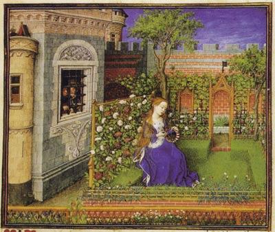 Pour certains les jardins du Moyen age   233 voquent une certaine    Medieval Nobles Manuscript