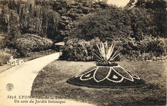 Moisaiculture parc de la tete d or lyon