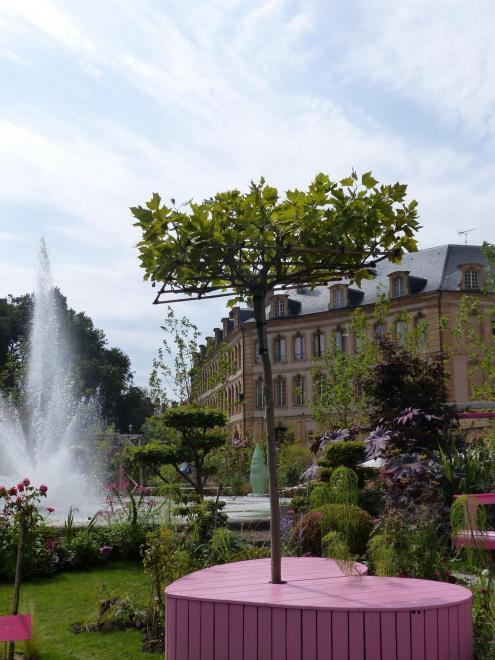 Metz 2016 jardin ephemere for Jardin fabert metz