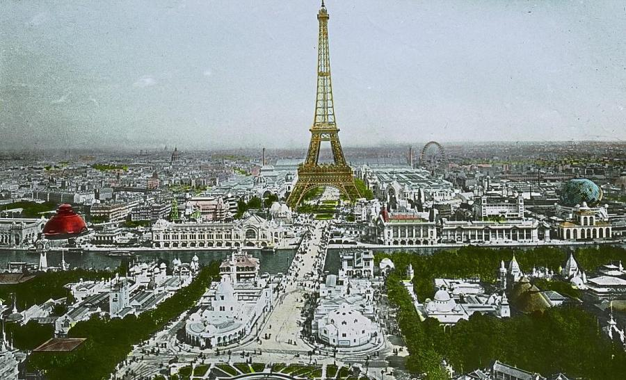 Paris expo uni 1900
