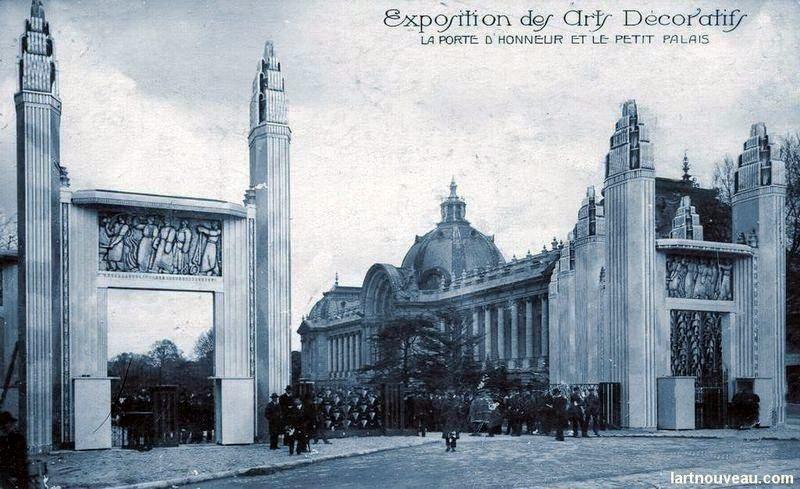 Porte d honneur et petit palais