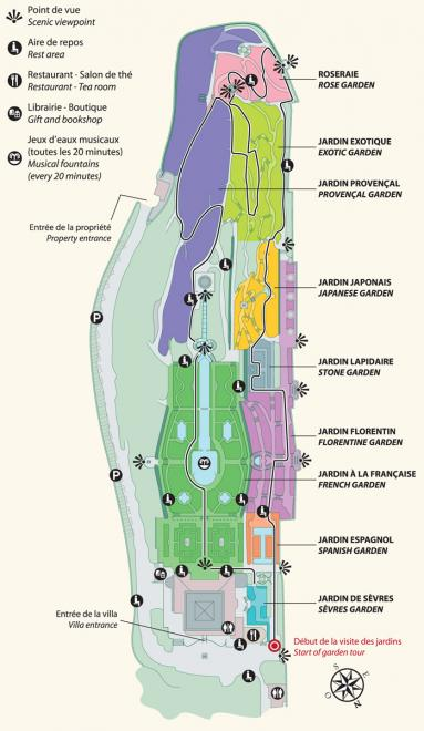 Rothschild garden layout